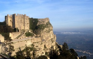 Erice - Norman castle in Italy