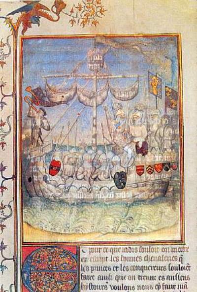 crusader ship