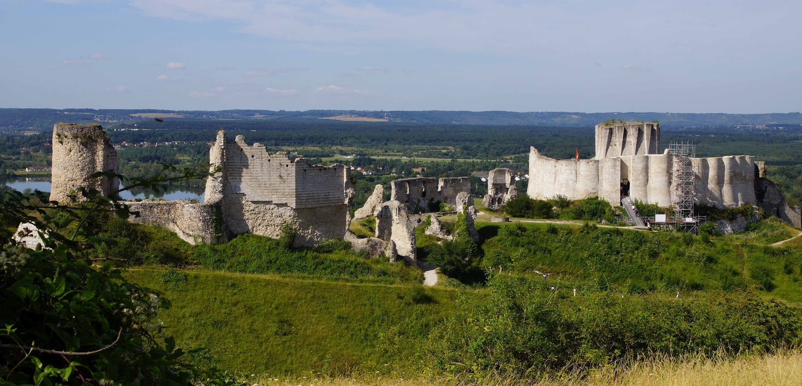 Gaillard France  city images : Andelys, Normandy France Chateau Gaillard, Richard the Lionheart ...