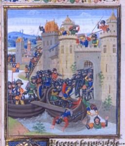 Edward III of England besieging Tournai (1340)