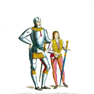 Knight with Squire