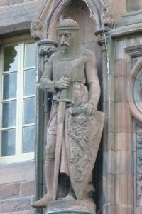 William Wallace statue, Scottish National Portrait_Gallery, dinburgh