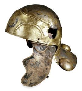 British Museum - Roman Britain cavalry combat helmet