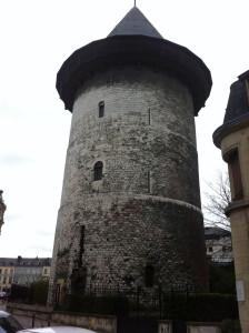 Conan's Leap - Rouen Castle