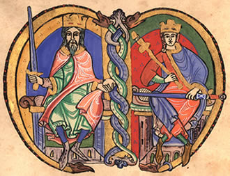 David I and Malcolm IV - Canmore Dynasty Scotland