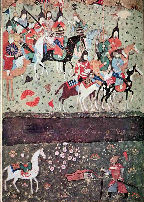 Battle of Indus - Ghengis Khan